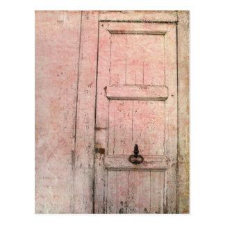Carte Postale abrégé sur porte