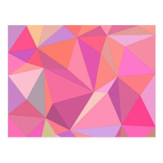 Carte Postale Abrégé sur triangle