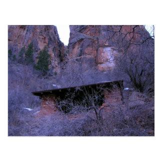 Carte Postale Abri, parc national de canyon grand