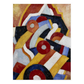 Carte Postale Abstraction par Marsden Hartley
