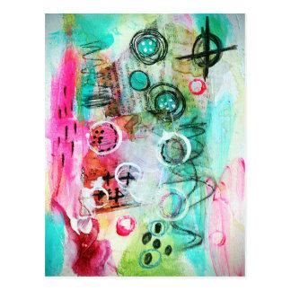 Carte Postale Abstrait