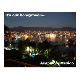 Carte Postale Acapulco, Mexique