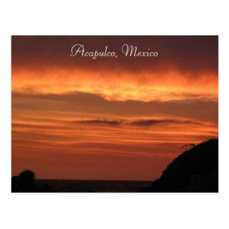 Carte Postale Acapulco, Mexique