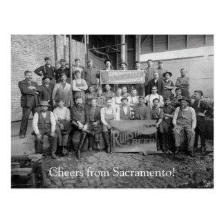 Carte Postale Acclamations de Sacramento, CA ! (1)