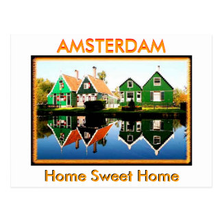 Carte Postale Accueil vers Amsterdam (Mojisola un Gbadamosi