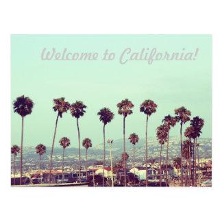 Carte Postale Accueil vers la Californie !