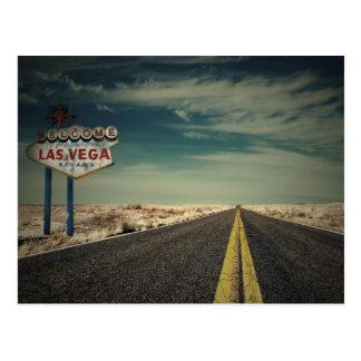 Carte Postale Accueil vers Las Vegas