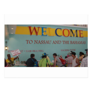 Carte Postale Accueil vers Nassau