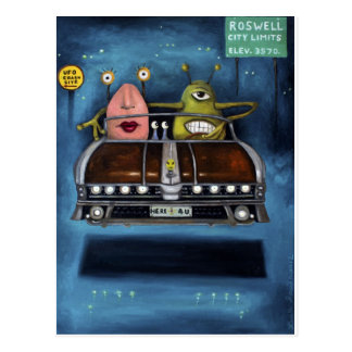 Carte Postale Accueil vers Roswell