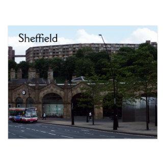 Carte Postale Accueil vers Sheffield