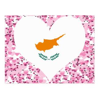Carte Postale Achetez le drapeau de la Chypre