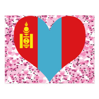 Carte Postale Achetez le drapeau de la Mongolie
