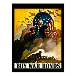 Carte Postale Achetez les titres d'emprunt de guerre vintages