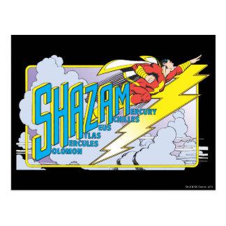 Carte Postale Acronyme 2 de Shazam