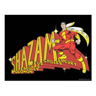 Carte Postale Acronyme de Shazam