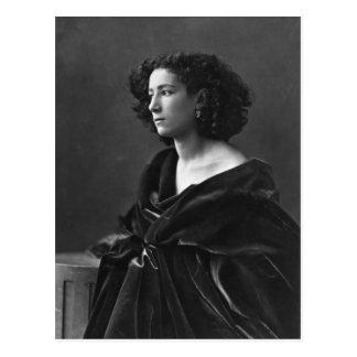 Carte Postale Actrice française Sarah Bernhardt par Félix Nadar