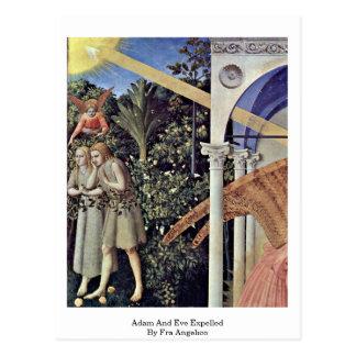 Carte Postale Adam et Ève expulsés par ATF Angelico