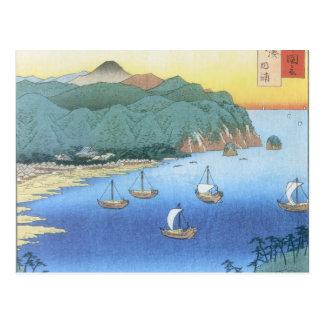 Carte Postale Admission à la province d'Awa par Ando Hiroshige