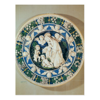 Carte Postale Adoration de la Vierge avec St John