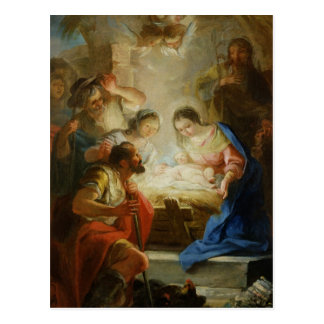 Carte Postale Adoration des bergers