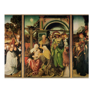 Carte Postale Adoration des Magi 2
