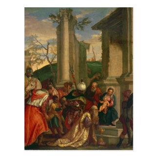 Carte Postale Adoration des rois