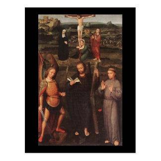 Carte Postale Adriaen Isenbrandt Arkhangel St Michael St Andrew