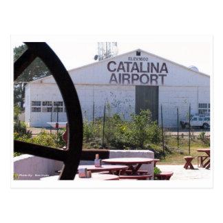 Carte Postale Aéroport de Catalina