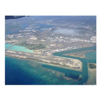 Carte Postale Aéroport de Honolulu de ciel