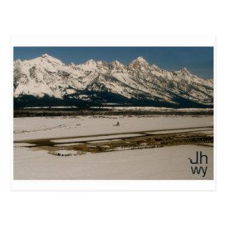 Carte Postale Aéroport de Jackson Hole