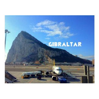 Carte Postale Aéroport de rocher de Gibraltar