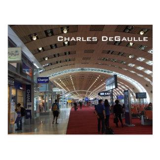 Carte Postale Aéroport international de Charles de Gaulle