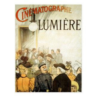 Carte Postale Affiche de cinéma de frères de Lumière