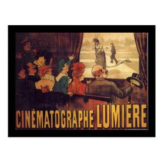 Carte Postale Affiche de cinéma de Lumière