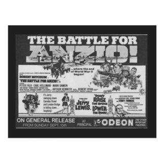 """Carte Postale Affiche de cinéma pour le film, """"bataille pour"""