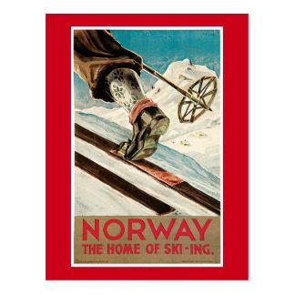 Carte Postale Affiche de la Norvège