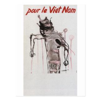 Carte Postale Affiche de propagande de Vietmam