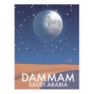 Carte Postale Affiche de voyage de Dammam Arabie Saoudite