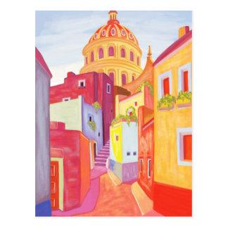 Carte Postale Affiche de voyage du Mexique