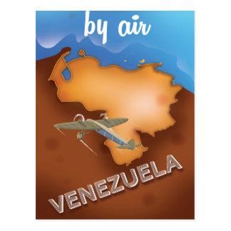Carte Postale affiche vintage de voyage du Venezuela
