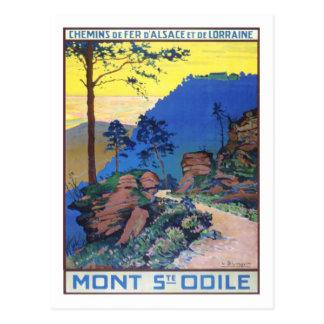 Carte Postale Affiche vintage de voyage, France