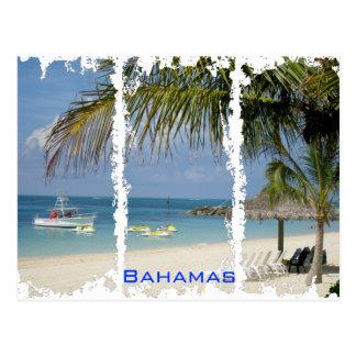 Carte postale affligée des Bahamas 2