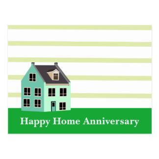 Carte Postale Agent immobilier à la maison heureux