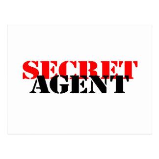 Carte Postale Agent secret
