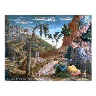 Carte Postale Agonie d'Andrea Mantegna dans le jardin