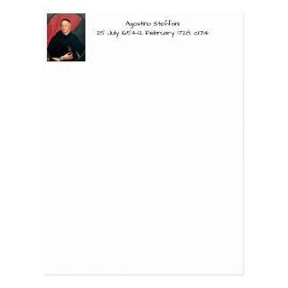 Carte Postale Agostino Steffani, c1714