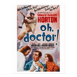 Carte Postale Ah, docteur !