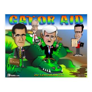 Carte Postale Aide d'alligator de GOP