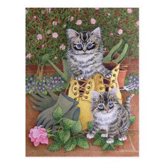 Carte Postale Aides de jardin