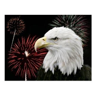 Carte Postale Aigle de Jour de la Déclaration d'Indépendance